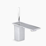 rendering of stainless steel faucet